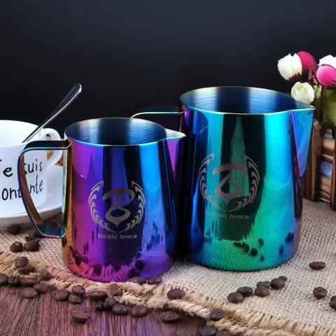 baristaspace 1.0 espresso coffee streaming pitcher milk jugs
