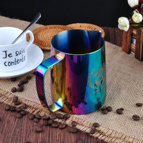 baristaspace 1.0 espresso coffee streaming pitcher milk jugs large