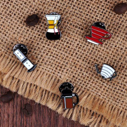 COFFEE BARISTA PINS