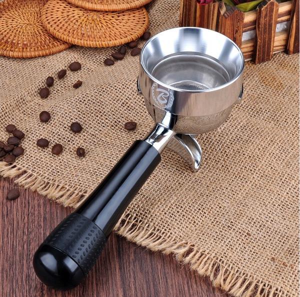ESPRESSO COFFEE PORTAFILTER DOSING FUNNEL 58MM Silver