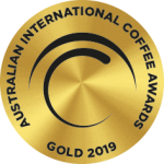 2019 Australian International Coffee Awards Gold Medal