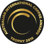 2019 Australian International Coffee Awards Trophy