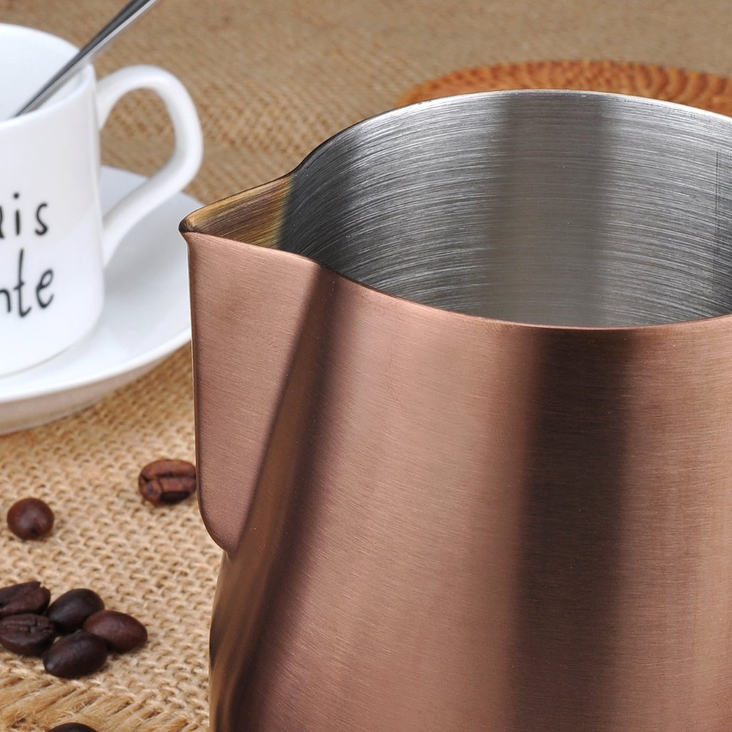 Barista Space 1.0 350ml Pitcher For Coffee Latte Art Copper