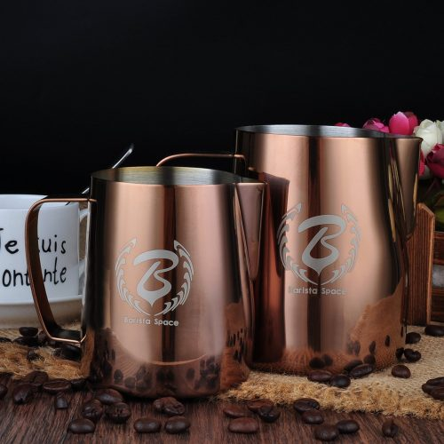 Barista Space 1.0 Pitcher Milk Jug Rose Gold