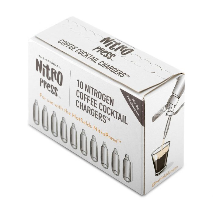 NitroPress Coffee Cocktail Chargers 10 Pack