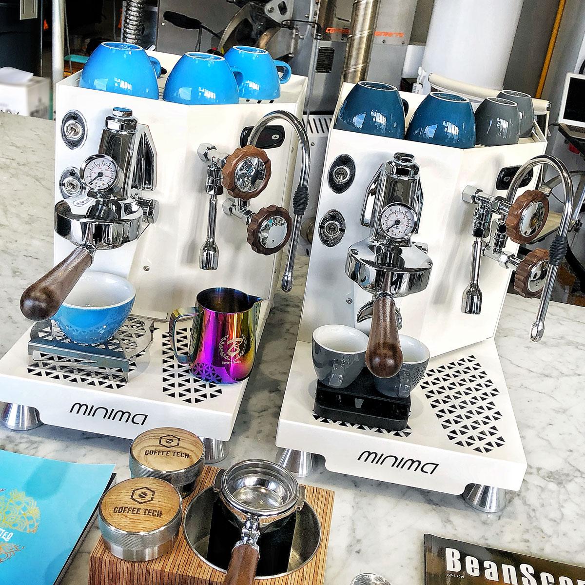 Coffee Machine Minima White