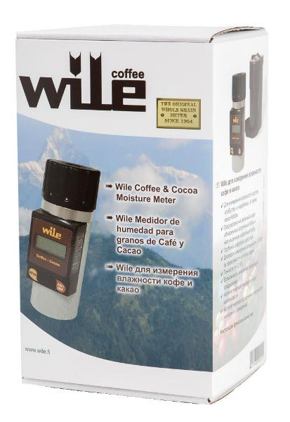 Wile Coffee and Cocoa Moisture Meter Packaging