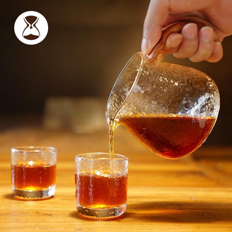Timemore glass decanter set