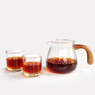 Timemore glass decanter set