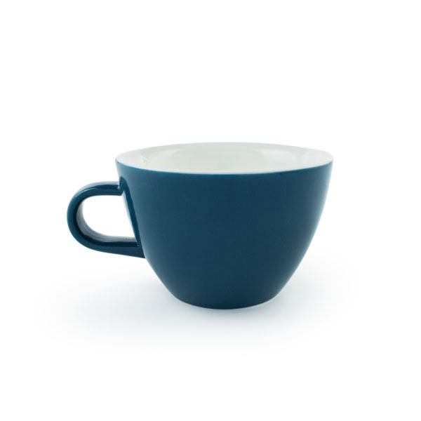 Pack of 6 Flat White Cups Whale, 150ml