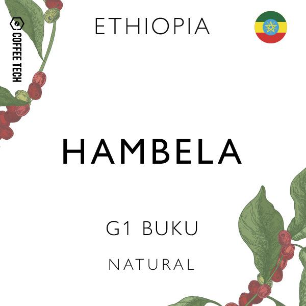 Ethiopia Natural Hambela G1 Buku Single Origin