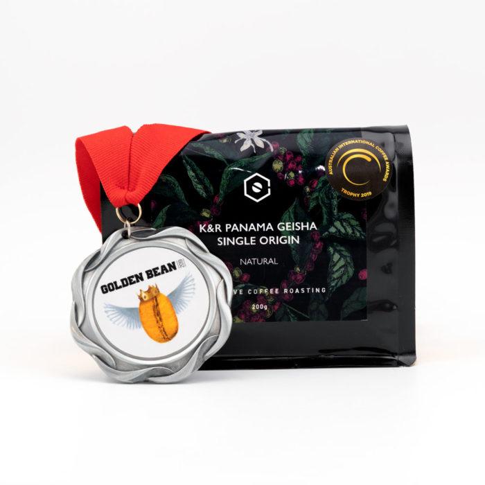 K&R PANAMA Geisha Natural Single Origin Whole Bean Coffee