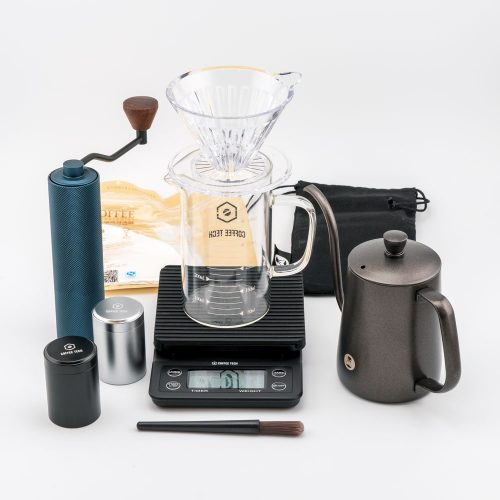 Timemore Slim Hand Pour Over Coffee Travel Bundle