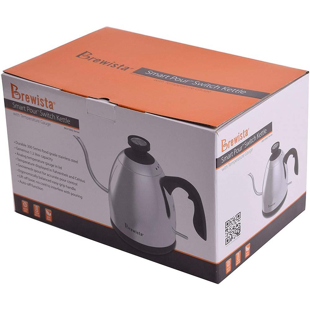 Brewista Smart Pour™ 1.2L Electric Switch Kettle