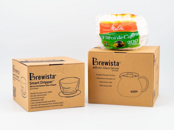 Brewista Double Wall Glass Smart Dripper Kit