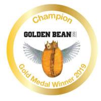 GOLDEN BEAN 2019 GOLD MEDAL WINNER 2019