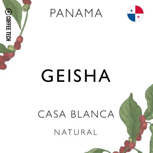 Panama Geisha Casa Blanca Natural Single Origin Coffee