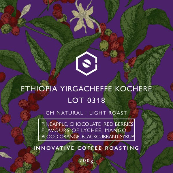 Ethiopia Yirgacheffe Cochere CM Natural Lot 0318