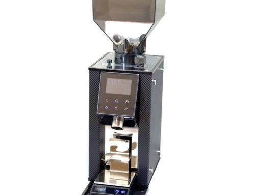 COFFEE TECH demonstrate the new gravimetric coffee grinder prototype