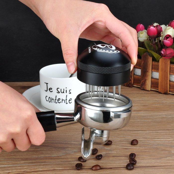 Barista Space Coffee Espresso Needle Tamper C3 Black