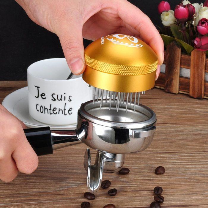 Barista Space Coffee Espresso Needle Tamper C3 Golden