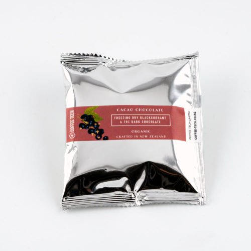 CACAO 70% Organic Chocolate Rolled Blackcurrants