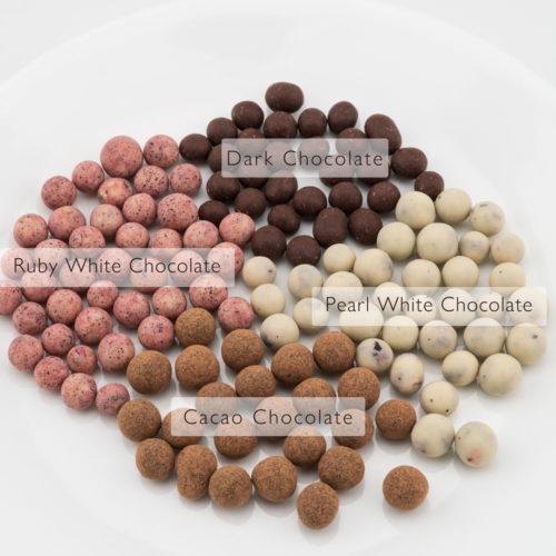 Organic Chocolate Rolled Blackcurrants