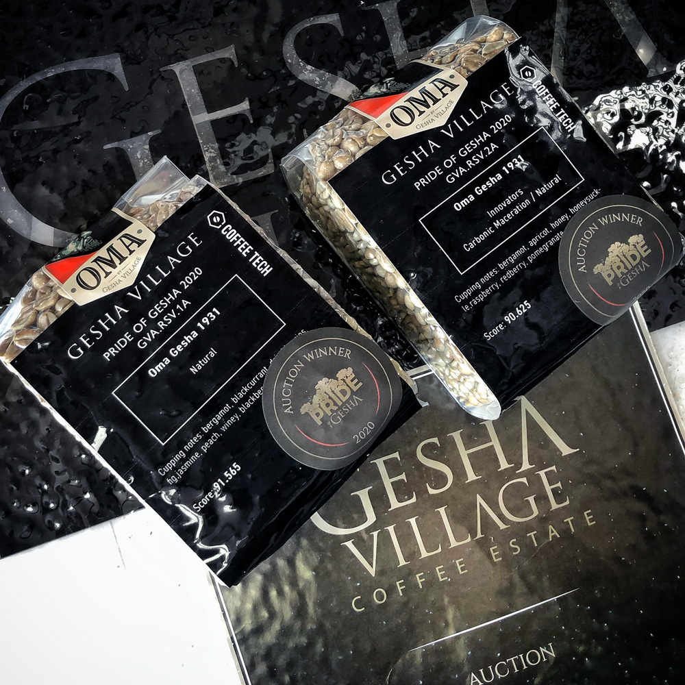 Gesha Village 2020 Oma Gesha 1931