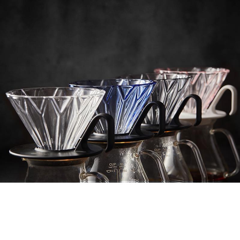 Hero Petal Coffee Dripper - Glass