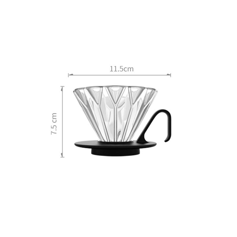Hero Petal Coffee Dripper - size