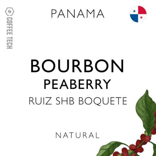 Panama Ruiz SHB Boquete Bourbon Peaberry